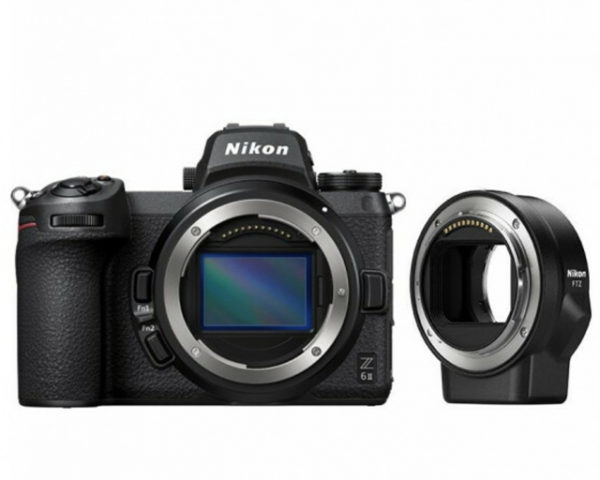 🇬🇧Nikon Z6 II Mirrorless Digital Camera with FTZ Mount Adapter Kit €2034 Warranty 3-5 Years Assistance In Italy🇮🇹 Multilingual Menu Not Included Italian