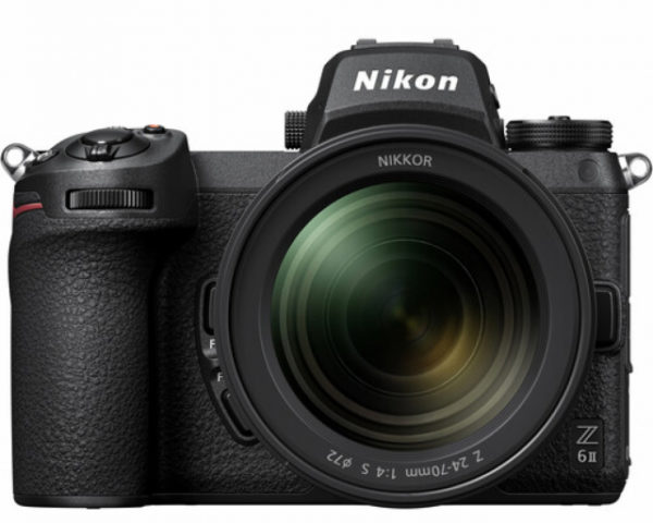 🇬🇧Nikon Z6 II Mirrorless Digital Camera with 24-70mm f/4 Lens €2364 Warranty 3-5 Years Assistance In Italy🇮🇹 Multilingual Menu Not Included Italian