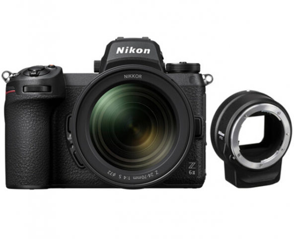 🇬🇧Nikon Z6 II Mirrorless Digital Camera with 24-70mm f/4 Lens + FTZ Adapter Kit €2529 Warranty 3-5 Years Assistance In Italy🇮🇹 Multilingual Menu Not Included Italian
