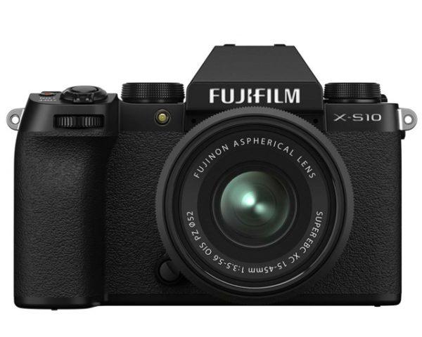 🇬🇧Fujifilm X-S10 Mirrorless Digital Camera + XC 15-45mm (Black) + sd 64gb €1040 Warranty 3-5 Years Assistance In Italy🇮🇹 Multilingual Menu Included Italian