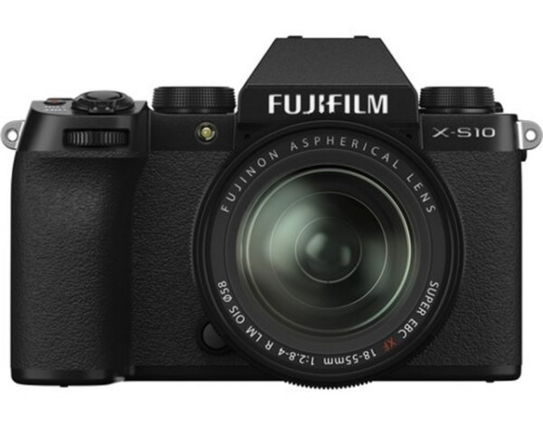 🇬🇧Fujifilm X-S10 Mirrorless Digital Camera + XC 18-55mm (Black) + sd 64gb €1170 Warranty 3-5 Years Assistance In Italy🇮🇹 Multilingual Menu Included Italian