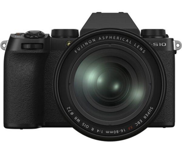 🇬🇧Fujifilm X-S10 Mirrorless Digital Camera + XC 16-80mm (Black) + sd 64gb €1415 Warranty 3-5 Years Assistance In Italy🇮🇹 Multilingual Menu Included Italian