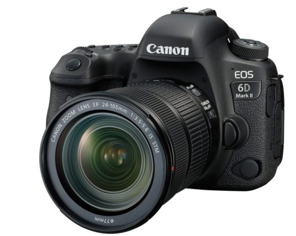 🇬🇧Canon EOS 6D Mark II with EF 24-105mm f/3.5-5.6 IS STM Lens €1430 - £1299 Warranty 3 Years Assistance In Italy🇮🇹 Multilingual Menu Included Italian🇮🇹