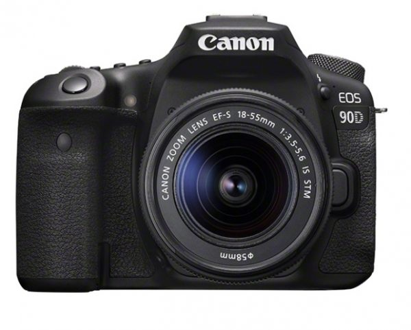 🇬🇧Canon EOS 90D DSLR Camera with Canon EF-S 18-55mm IS STM €1155 - £1059 Warranty 3-5 Years Assistance In Italy🇮🇹 Multilingual Menu Included Italian🇮🇹