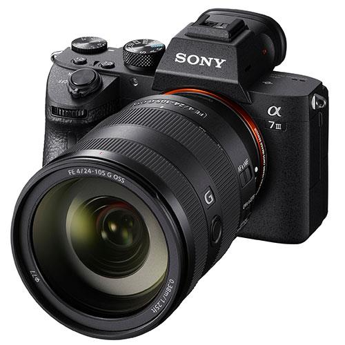 🇬🇧Sony Alpha a7R III Mirrorless Digital Camera with Sony FE 24-105mm f/4 G OSS Lens (PAL) €2753 Warranty 3-5 Years Assistance In Italy🇮🇹 Multilingual Menu Not Included Italian