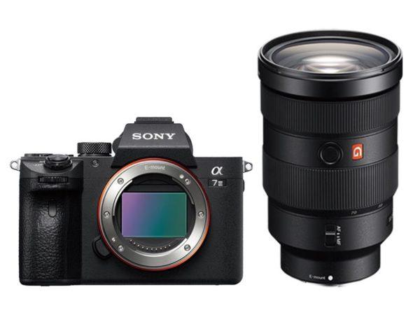 🇬🇧Sony Alpha a7 III Mirrorless Digital Camera + Sony FE 24-70mm f/2.8 GM €2883 Warranty 3-5 Years Assistance In Italy🇮🇹 Multilingual Menu Not Included Italian
