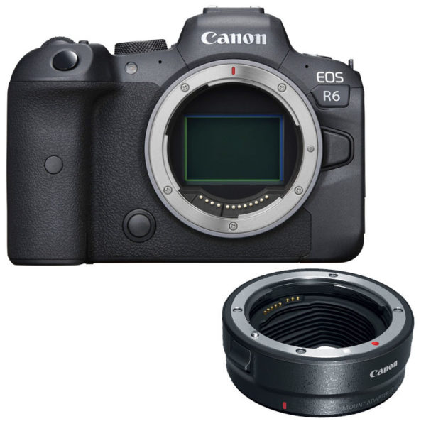 🇬🇧Canon EOS R6 Mirrorless Digital Camera with Canon EF-EOS R Control Ring Adapter €2562 Warranty 3-5 Years Assistance In Italy Multilingual Menu Included Italian