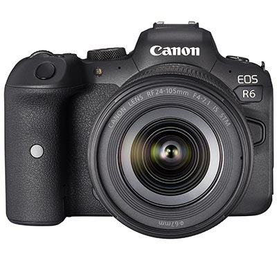 🇬🇧Canon Eos R6 Mirrorless Digital Camera with RF 24-105mm f/4-7.1 IS STM Lens €2485 Warranty 3-5 Years Assistance In Italy Multilingual Menu Included Italian