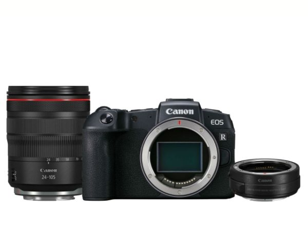 🇬🇧Canon EOS RP Mirrorless Digital Camera with RF 24-105mm Lens with EF-EOS R Adapter + €1765 - £1619 Warranty 3-5 Years Assistance In Italy🇮🇹 Multilingual Menu Included Italian🇮🇹
