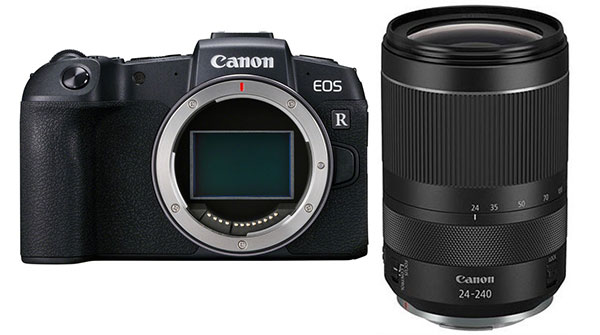 🇬🇧Canon EOS RP Mirrorless Digital Camera with RF 24-240mm Lens with EF-EOS R Adapter €1612 - £1479 Warranty 3-5 Years Assistance In Italy🇮🇹 Multilingual Menu Included Italian🇮🇹