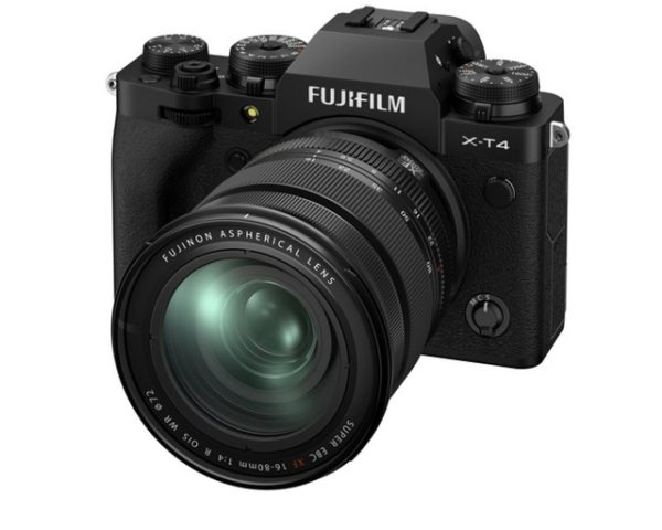 🇬🇧Fujifilm X-T4 Mirrorless Digital Camera (Body) with 16-80mm Lens (Black) + sd 64gb €1715 Warranty 3-5 Years Assistance In Italy🇮🇹 Multilingual Menu Included Italian
