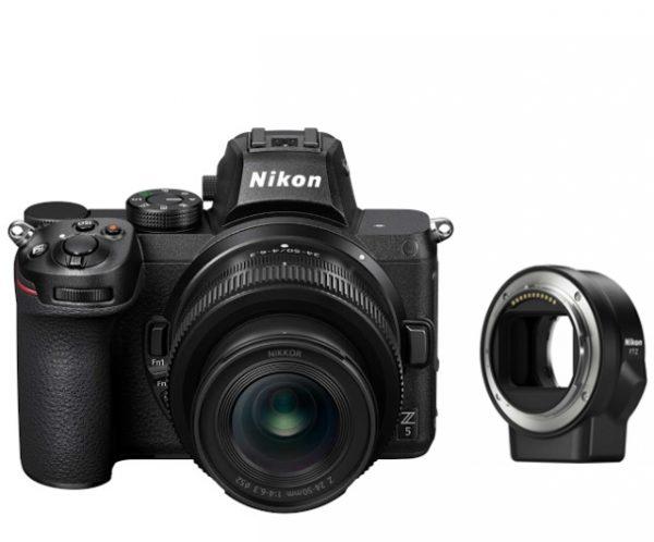 🇮🇹Nikon Z5 + Nikkor Z 24-50mm f/4-6,3 FTZ + 64GB €1955 Sconto Cassa €50 Prezzo Finale €1905 Hai Un Prezzo Migliore?… Contattaci !!☎️