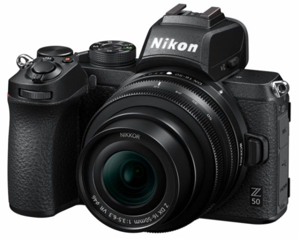 🇬🇧Nikon Z50 Mirrorless Digital Camera with 16-50mm Lens €863 Warranty 3-5 Years Assistance In Italy🇮🇹 Multilingual Menu Not Included Italian