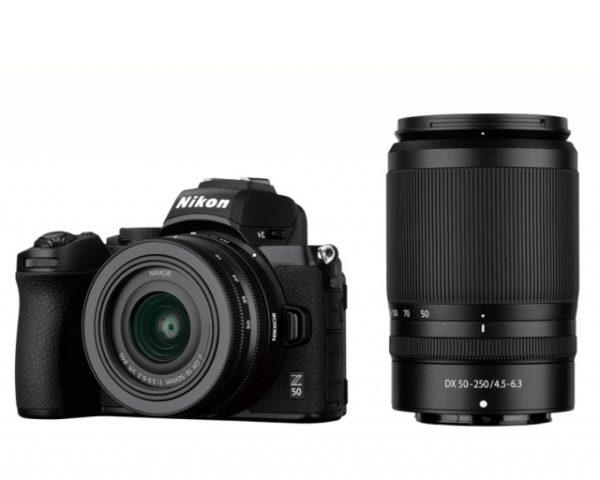 🇮🇹Nikon Z50 + Z DX 16-50 + 50-250 VR + 64GB €1225 Sconto Cassa €50 Prezzo Finale €1175