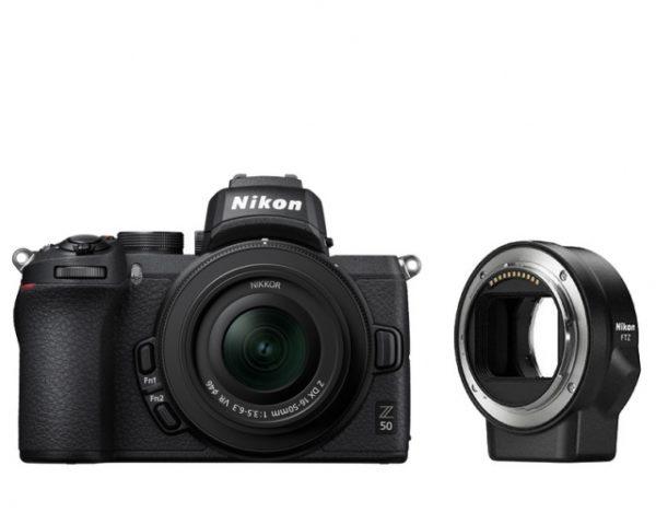 🇮🇹Nikon Z50 + Z DX 16-50 VR + FTZ + 64GB €965 Sconto Cassa €40 Prezzo Finale €925