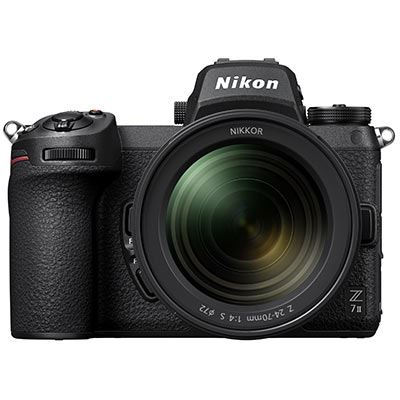 🇬🇧Nikon Z7II Mirrorless Digital Camera with 24-70mm f4 Lens €3549 Warranty 3-5 Years Assistance In Italy🇮🇹 Multilingual Menu Not Included Italian