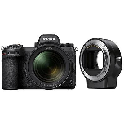 🇬🇧Nikon Z7II Mirrorless Digital Camera with 24-70mm f4 Lens and FTZ Adapter €3679 Warranty 3-5 Years Assistance In Italy🇮🇹 Multilingual Menu Not Included Italian