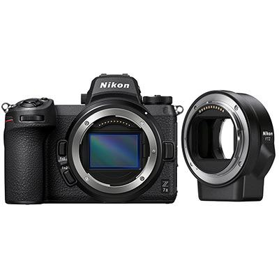 🇬🇧Nikon Z7II Mirrorless Digital Camera with FTZ Mount Adapter €2800 Warranty 3-5 Years Assistance In Italy🇮🇹 Multilingual Menu Not Included Italian