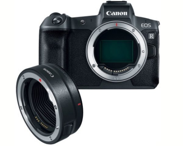 🇬🇧Canon EOS R Mirrorless Digital Camera with EF-EOS R Adapter €1720 Warranty 3-5 Years Assistance In Italy🇮🇹 Multilingual Menu Included Italian
