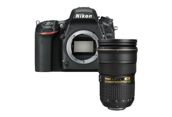🇬🇧Nikon D750 DSLR Camera with Nikon AF-S NIKKOR 24-70mm f/2.8G ED Lens + Sd 64Gb €2118 Warranty 3-5 Years Assistance In Italy🇮🇹 Multilingual Menu Included Italian🇮🇹