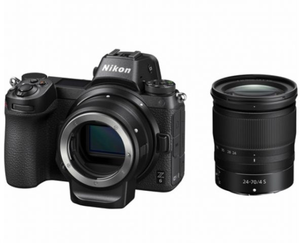 🇬🇧Nikon Z6 Mirrorless Digital Camera with 24-70mm f/4 Lens and FTZ Mount Adapter Kit €1880 Warranty 3-5 Years Assistance In Italy🇮🇹 Multilingual Menu Not Included Italian