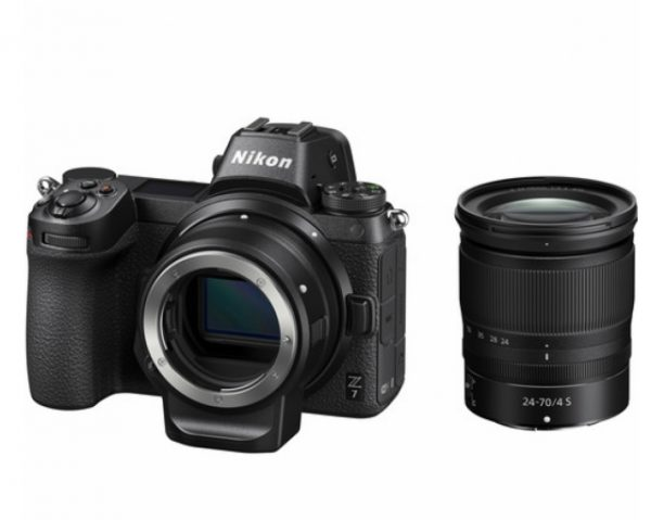🇬🇧Nikon Z7 Mirrorless Digital Camera with 24-70mm f/4 Lens and FTZ Adapter Kit €2540 Warranty 3-5 Years Assistance In Italy🇮🇹 Multilingual Menu Not Included Italian